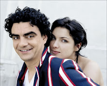 "Anna and Rolando - The cover of ""Duets"""