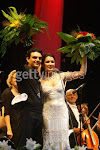 Anna and Rolando at a concert in Hamburg on 14th July 2007