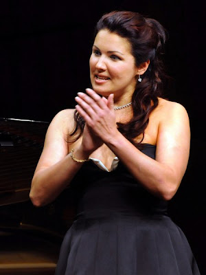 Anna Netrebko Rolando Villaz n The greatest couple in opera August 2009