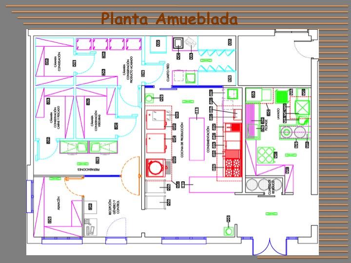 Dise o de restaurantes cocinas industriales for Distribucion de cocinas industriales