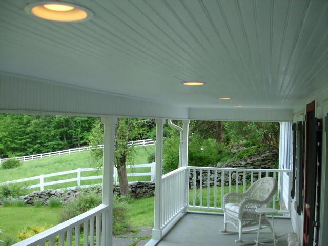 new porch lights - Gobble Hill: New Porch Lights