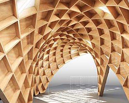 Dise o arquitectonico 2 sc primavera 2011 iteso for Pabellones arquitectura efimera