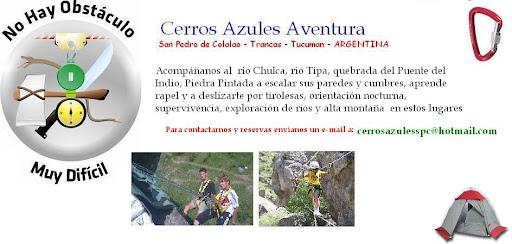 Cerros Azules Aventura - San Pedro de Colalao