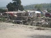 Rio Alamar after the floods/El Rio Alamar despues las inundaciones