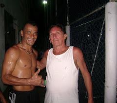 ...com o meu amigo Cafu no Peruibão