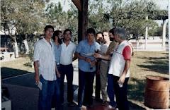 ...Jair Picerni no Canindé com Jornalistas
