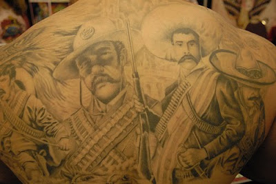 Mexican Tattoo Designs on Tattoos Spotlight  History Of Mexican Tattoos