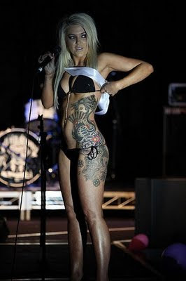 Girls with Body Tattoo Photos - Girls Tattoos Pics