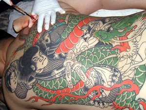Shogun - Dragon Tattoo