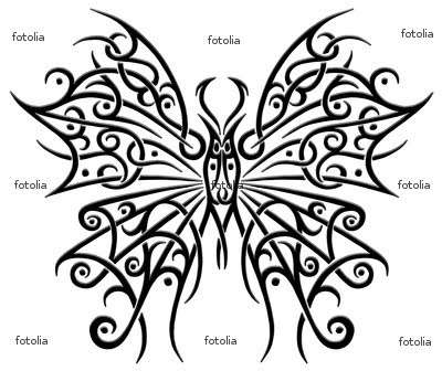 schmetterling butterfly tattoo | MEXICAN TATTOO DESIGN