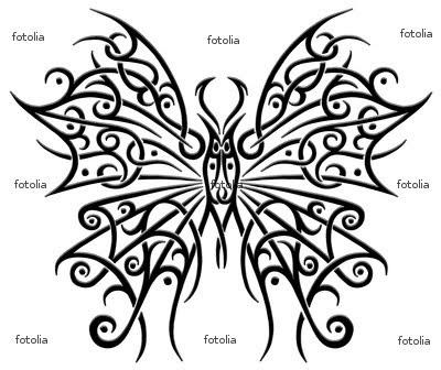 schmetterling butterfly tattoo | MEXICAN TATTOO DESIGN