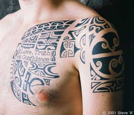 Polynesian Tribal Tattoo | TATTOO DESIGN