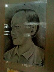 吴森航老师替我画的画像