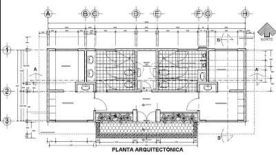 dibujos de arquitectura modulo de ba os vestidores On planta arquitectonica definicion