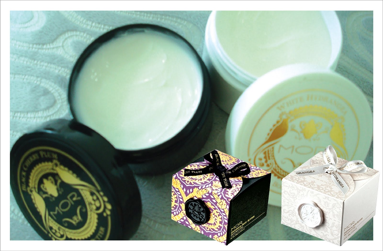 MOR body butters, lip delight, soapettes, lip nectar