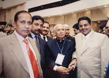 Suchit Dave with Law Minister Hans Raj Bharadwaj