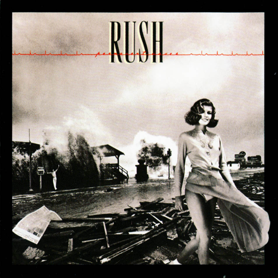 rush permanet waves album