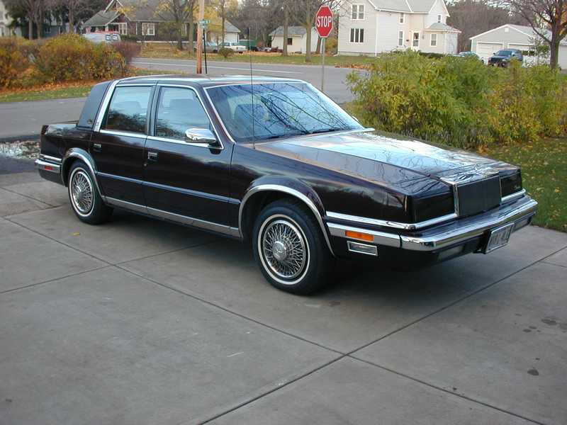 Art contrarian styling discontinuities chrysler for 1990 chrysler new yorker salon