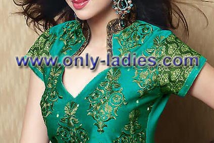 Chudidhar Stitching Models http://www.only-ladies.com/2010/11/salwar-neck-pattern-2011.html