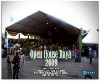 Open House Raya 2009