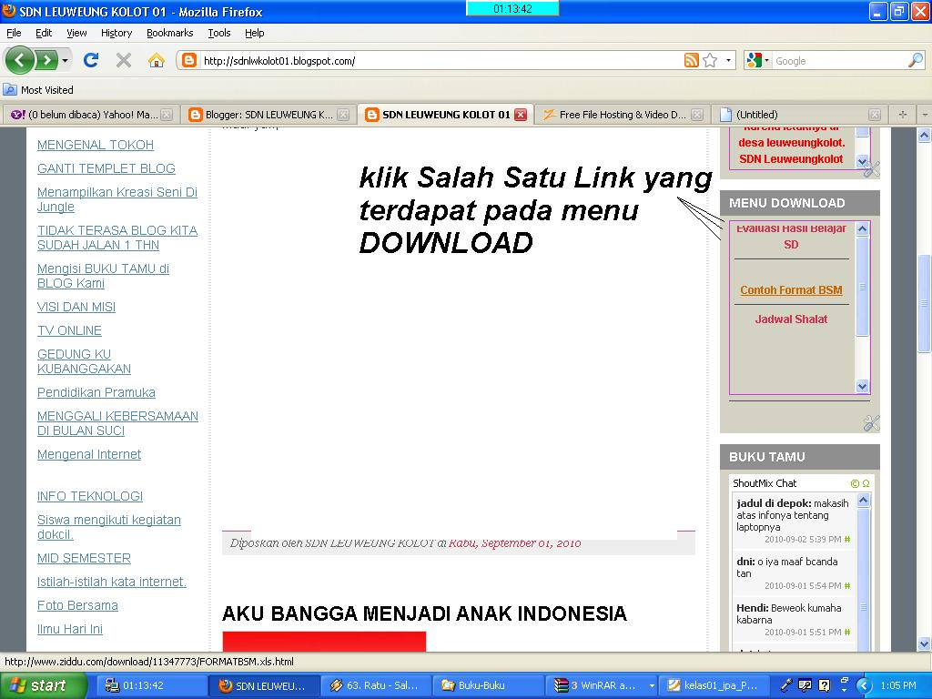 CARA MENDOWNLOAD DOKUMEN