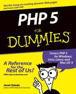 PHP 5 For Dummies - Janet Valade, Dummies Free Ebook, PHP