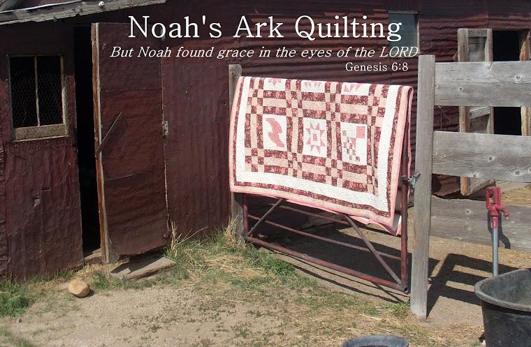 Noah's Ark Quilting