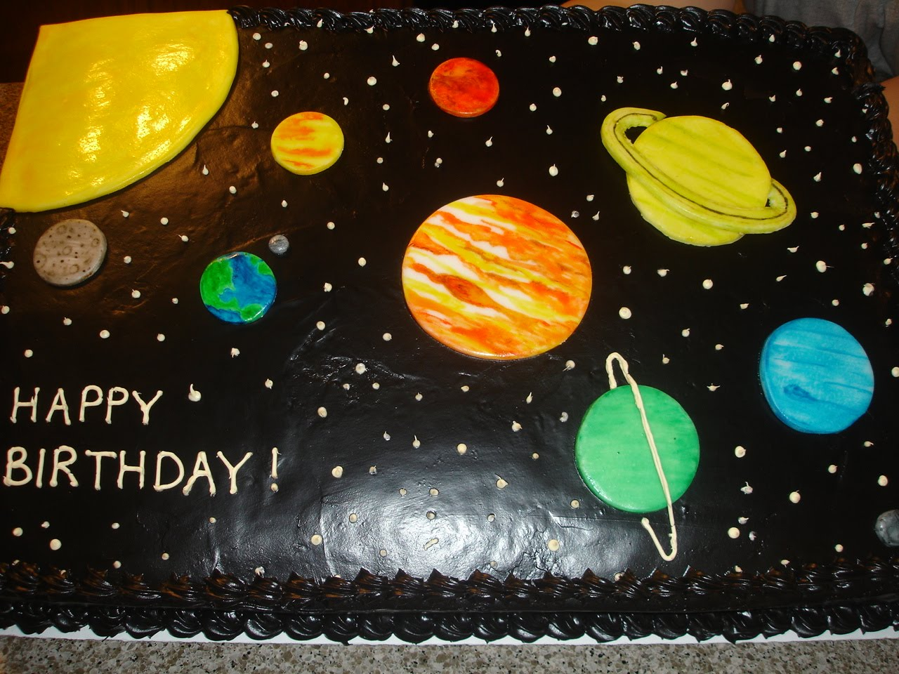Planet Cake Images : The Sugar Shack: Space Cake