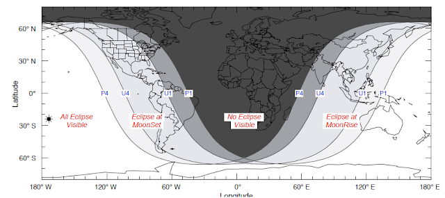 lunar eclipse on 26 june 2010 map
