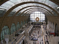 Inner panorama at Musée d'Orsay (Orsay Museum)