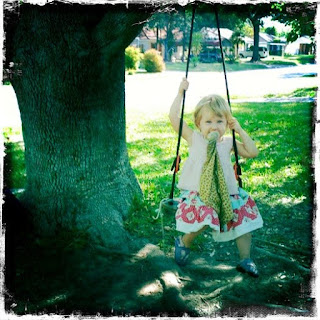 small child swing