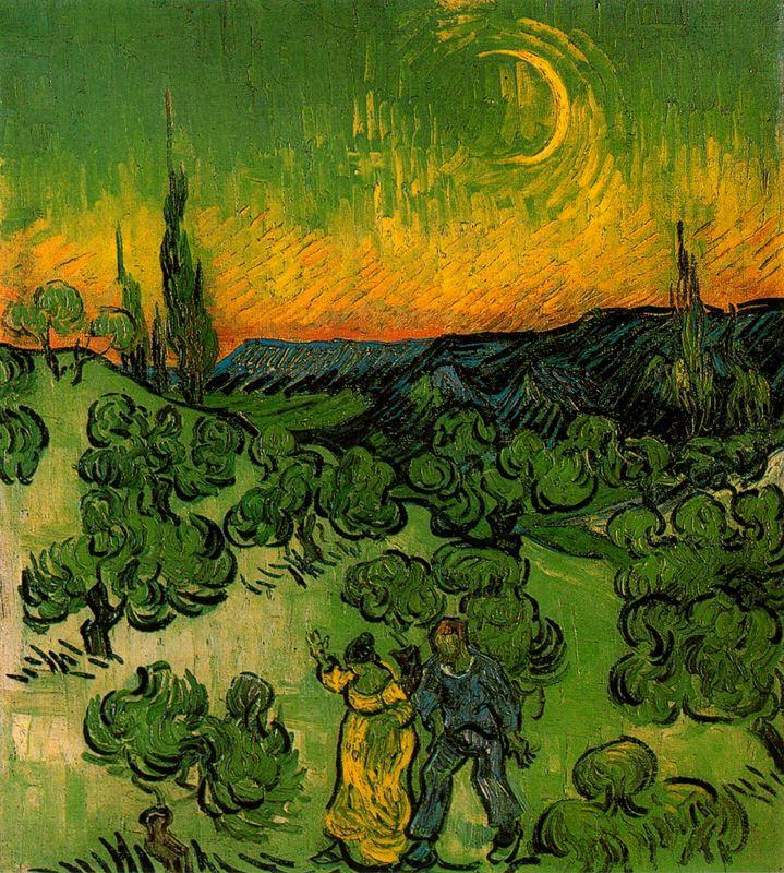 MOON NIGHT - Página 39 1890_VanGogh_Paseo+a+la+luz+de+la+luna