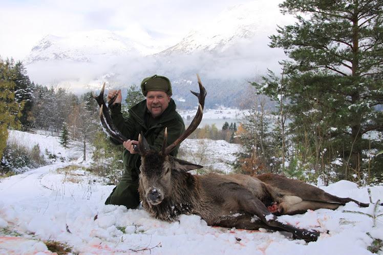 Hjortejakt i Stryn 2010