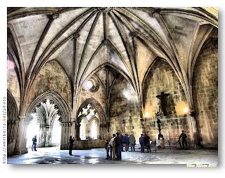 Sala do Capítulo do Mosteiro da Batalha