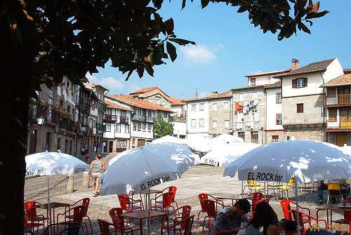 Praça de Santiago em Guimarães
