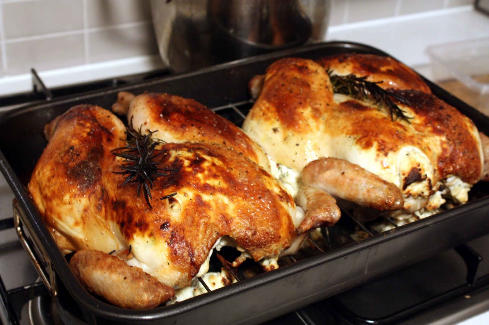 Ricotta, Mushroom, And Herb Stuffed Chicken Breasts Recipe ...