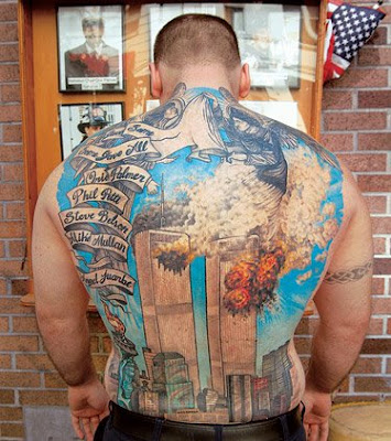 Full Back Tattoos design