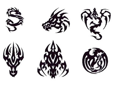 Tribal Tattoo Dragon, Art Tattoo, Design Tattoo, Pictures Tattoo, Gallery Tattoo, Dragon Tattoo Tribal