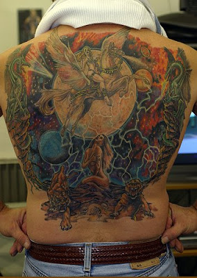 Crazy Tattoo,Art and Design Tattoo,Body Tattoo