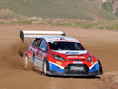2009 Ford Fiesta Pikes Peak Rallycross