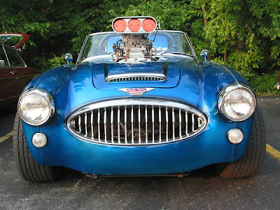 Ray Bencar's 1965 Austin-Healey 3000 III BJ8 with Chevy 350 engine