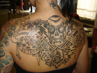 full back tattoos women. Back japanese tattoo women