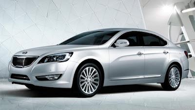 Kia Cadenza Sedan 2011 Car News Reviews