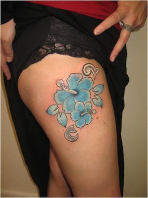 flower tattoos for girls. flower tattoos for girls.