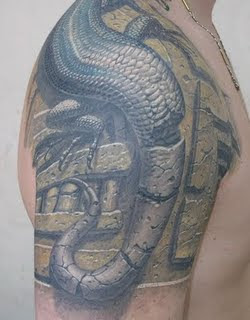 3d tattoo, arm upper tattoo, new design tattoo