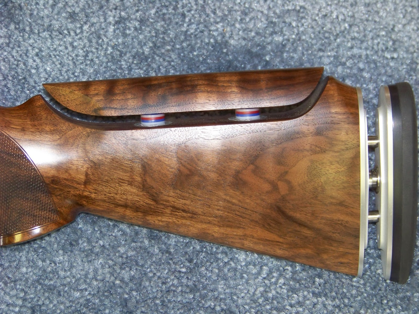 Speedbump Stockworks Official Home Of Ken Ruckers Bump Buster Remington870partsdiagram The Butt Plate Rests Against Shooters Adjustable Comb On My Blaser