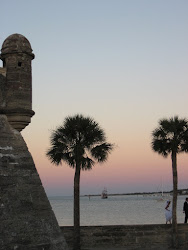 St Augustine, FL, in December