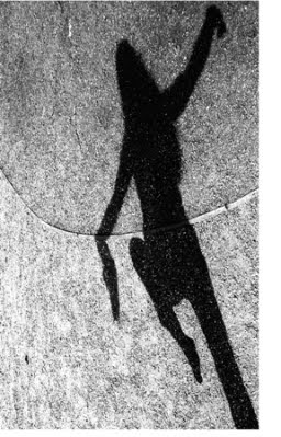 Shadows often dance just before the sun goes down.
