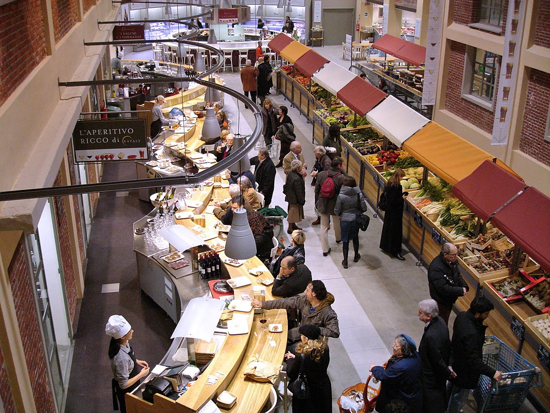 Torino daily photo eataly in new york for Food bar nyc