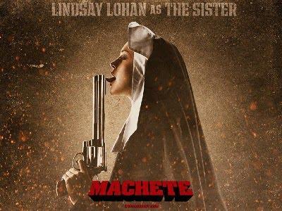 lindsay lohan machete hot. the infamous Lindsay Lohan